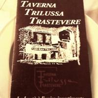 Restaurant Review - Taverna Trilussa Trastevere